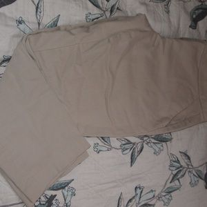 Tommy Hilfiger Pants - TOMMY HILFIGER WOMEN LIGHT BROWN CAPRI PANTS